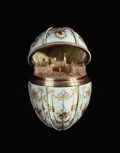Tzars of Russia Faberge Eggs | Fabergé egg -Gatchina Palace, 1901