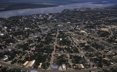 Vista aérea de Boa Vista, capital de Roraima