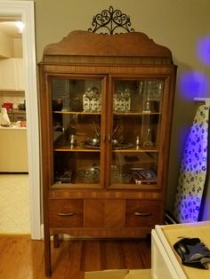 Art deco smoking cabinet | vintage furniture in my home | Pinterest
