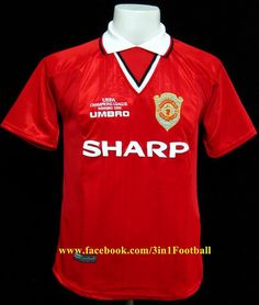 d11501cb7 1999 Manchester United Treble Winners