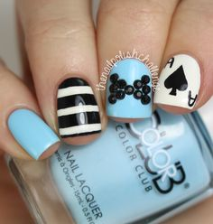 | thenailpolishchallenge: Alice in Wonderland...
