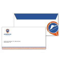 Aplicação em papelaria - envelope