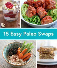 15 Paleo-Friendly Recipe Substitutions - Life by DailyBurn