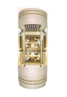 Thang máy lồng kính mã số DA 513A