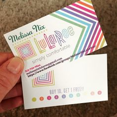 Find This Pin And More On LuLaRoe Addiction Business Cards