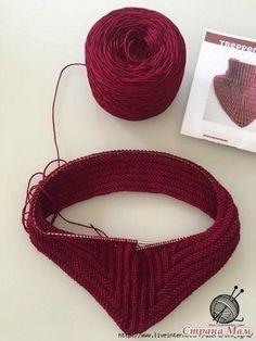 Crochet scarf cowl tutorials 53 ideas for 2019 Crochet Amigurumi Free Patterns, Baby Knitting Patterns, Crochet Stitches, Hand Knitting, Knit Crochet, Crochet Hats, Fingering Yarn, How To Start Knitting, Knitted Shawls