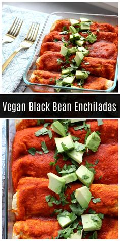 Vegan Black Bean Enchiladas These vegan black bean enchiladas are perfect weeknight meal. These enchiladas are also gluten free and easy to assemble! Source by whiskitrealgud Cooked Vegetable Recipes, Vegetable Korma Recipe, Spiral Vegetable Recipes, Vegetable Samosa, Vegetable Casserole, Vegetable Dishes, Vegan Mexican Recipes, Vegan Dinner Recipes, Vegan Dinners