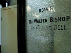 Door to Walter's lab #Fringe