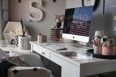 office decor home office beauty blogger