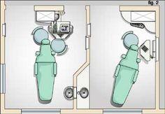 Dental office with a few tweaks salon modify door to for Door design ergonomics