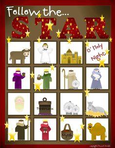 Christmas Bingo Pre-School Version!!!