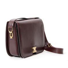 Céline Aubergine Shoulder Bag. Secondhand designer bags LabelLOV Shopping  Places 650eff7fdb2df
