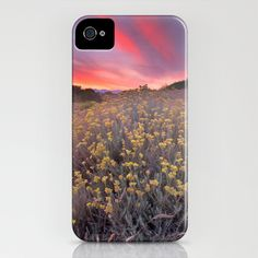 magical beams of light at sunset iPhone Case by Guido Montañés - $35.00