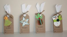 Etiquetas para personalizar regalos de navidad