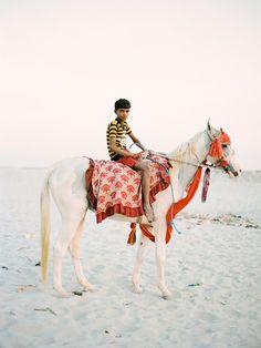 Boy on Horse (by A Jacona)