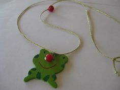 Frog necklace-by NTG