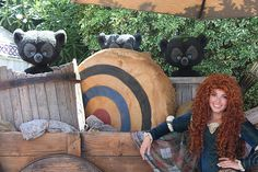 Merida and Her Wee Bear Cubs