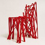 First chair, Patrick Jouin& Solid in collaboration with .MGX by Materialise, acquired by the Stedelijk Museum . Impression 3d, Chair Design, Furniture Design, Funny Furniture, Muebles Art Deco, 3d Printing Industry, 3d Printed Objects, 3d Printer Designs, 3d Printing Service