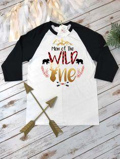 1f92c937aed9e0 Mama Bear Shirt Mom of the Wild One Buffalo Plaid Party