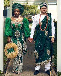 Nigerian Traditional Attire, Nigerian Wedding Dresses Traditional, Traditional Wedding Attire, African Traditional Wedding, African Lace Dresses, Latest African Fashion Dresses, Igbo Bride, Igbo Wedding, Nigerian Bride