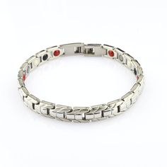 This beautiful hand crafted bracelet is designed like no other in the marketplace. We have partnered with manufacturers to bring you technologies that are new cutting edge sciences and have combined them with health knowledge that has existed for over 3000 years, both combined into one health product