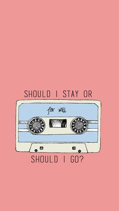 Debería quedarme o debería ir?