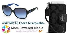 Back to School Fashion Series: Coach Sunglasses & Wristlet Giveaway