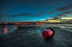 Fotograf Ryde Sands at Night von Manatee Voyager auf 500px