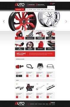 Auto Parts Online Store Auto Parts Catalog, Auto Parts Online, Tool Design, App Design, Top Wordpress Themes, Catalogue Layout, Catalog Design, Landing Page Design, Interface Design