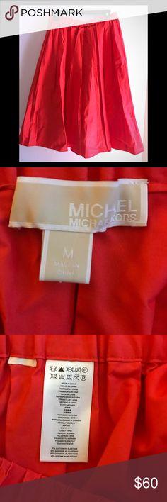 Skirt Red pleated skirt Michael Kors Skirts A-Line or Full