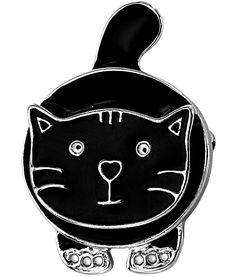 Pouncing Cat Pin - Every Purchase Funds Food and Care for Rescued Animals.