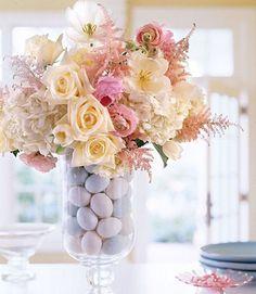 Égayer son centre de table avec… un bouquet de fleurs original - Pâques: 10 idées pour décorer son centre de table