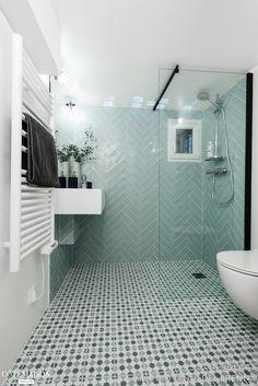 A 23 fully renovated basement, INSIDE SAS - House side Herringbone tiling Very small space Minimalist bathroom Walk-in shower Wall-hung basin Bathroom Renos, Bathroom Layout, Small Bathroom, Bathroom Faucets, Upstairs Bathrooms, Dream Bathrooms, Downstairs Loo, White Bathrooms, Luxury Bathrooms