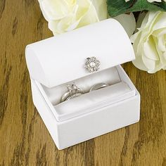 Satin Chest Ring Box- bought it and the picture doesn't do it justice.  It is so pretty. Have