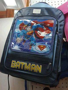 Batman Superman Backpack – You Had One Job