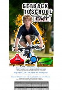 #Bicycle #Safety is a #big #deal this time of year with #kids going back to #school.  For more information, please visit EMTeasy.com