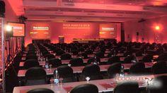 Evento Lanzamiento Atripla (Sitges). 2007 General con equipo de luces y video (proyección y pantallas TV).