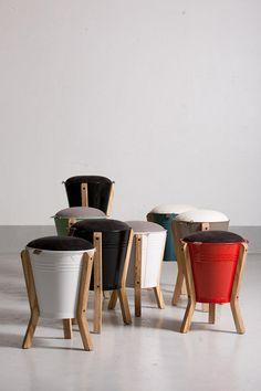 Bucket Stool - pedersen+lennard  OUTDOOR AREA OR PLAYROOM