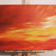 #sunset #art #relaxing Sunset Art, Architecture, Drawings, Painting, Instagram, Arquitetura, Painting Art, Sketches, Paintings