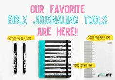Get your favorite bible journaling tools from Illustrated Faith! Praise book, the perfect pen for journaling and our bible mat!!