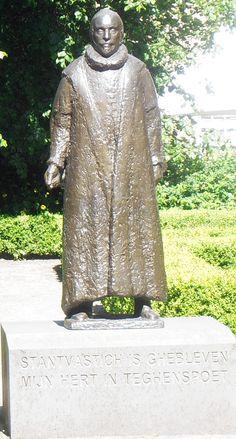 Delft - musem Prinsenhof - 2003 - Auke Hettema - Willem de Zwijger - brons