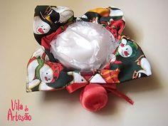 Sachê porta sabonete dica vapt-vupt de presente de natal