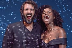 Superstar singer Josh Groban and newcomer Denée Benton bring Off Broadway musical hit Natasha, Pierre & The Great Comet of 1812 to Broadway Great Comet Of 1812, The Great Comet, Theatre Geek, Musical Theatre, Lucas Steele, Josh Groban Broadway, Josh Gorban, Old Shows, Queen