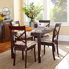 * Apartment Dining Table is made of solid wood      * World Market exclusive