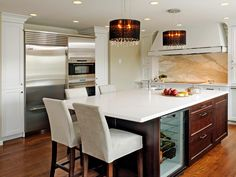 HGTV.com has inspirational pictures, ideas and expert tips on custom kitchen islands to keep your kitchen high-functioning and efficient.