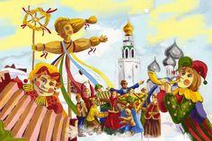 Local Fun, Maslenitsa week in Russia.