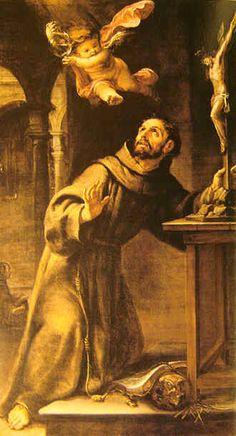 Juan de Valdés Leal, Mensaje del ángel a San Francisco de Asis, Flor Juárez