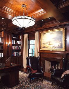 Beautiful traditional home office homeoffices