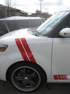 08-11 Scion XB fender stripes decals HOT