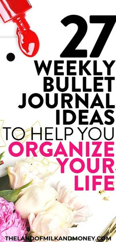 These bullet journal weekly spread ideas are incredible inspiration! I needed some creative tips on how to start a bujo, … Bullet Journal Weekly Spread, Creating A Bullet Journal, Bullet Journal 101, Bullet Journal How To Start A, Bullet Journal Layout, Bujo, Planner Organisation, Finance Organization, Household Binder